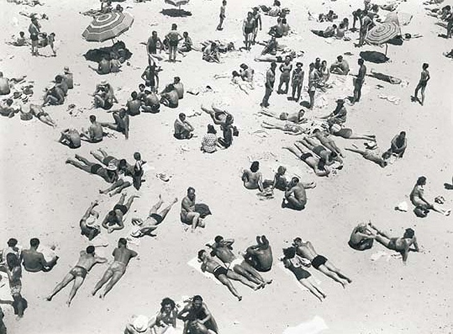 Max Dupain Bondi Beach Symmetry.