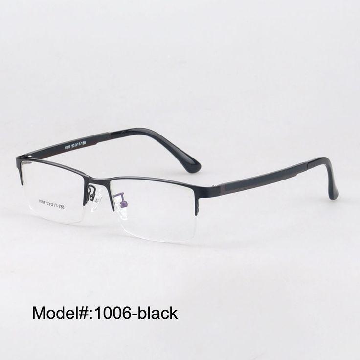 MX1006 half rim and comfortable wearing for men and women optical metal frame eyeglasses myopia spectacles eyewear