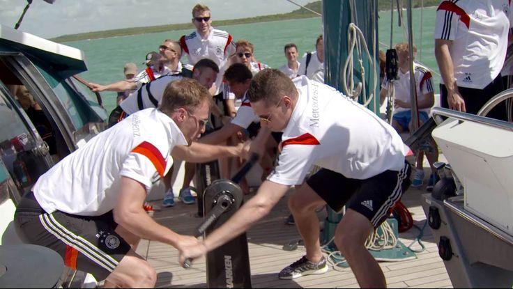 Teambuilding beim Segeln in Brasilien - Die Nationalmannschaft und Mike ...