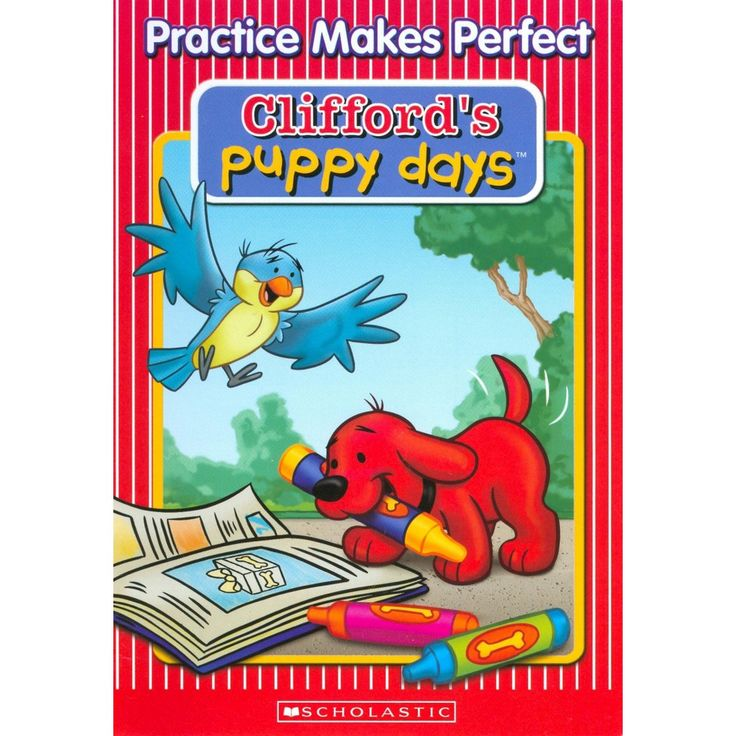 Clifford's Puppy Days: Practice Makes Perfect (dvd_video)