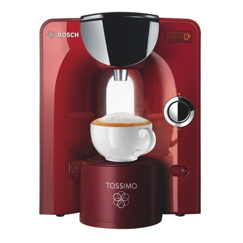 Bosch Tassimo Single Serve Coffee Maker (TAS5543UC) - Red. Don't worry Mom it won't take up too much space in my bedroom!! Love it!! #SetMeUpBBY
