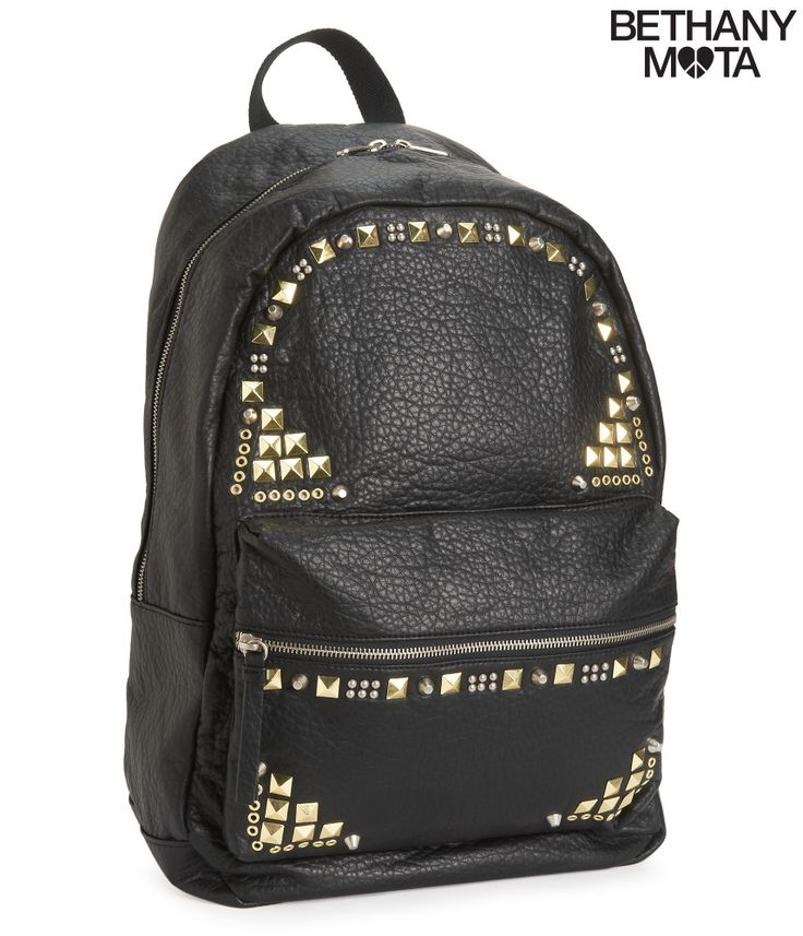 Studded Faux Leather Backpack from Bethany Mota Collection at Aeropostale