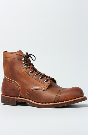 Red Wing The 6 Iron Ranger Boot in Copper Rough Tough :