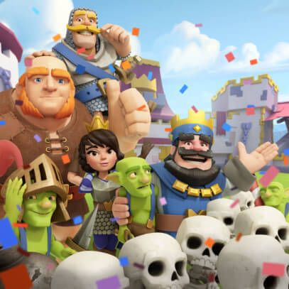 I've been playing a bit of SuperCell's newly launched Clash Royale because it's an insanely good game. I've built up to level 6, working my way out of the Barbarian Bowl and into P.E.K.A's Playhouse, and this game is putting a serious dent in both my Golden D6 and hobby time!