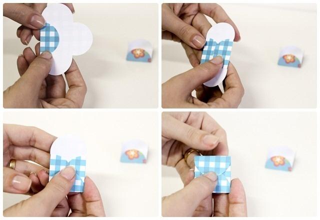 Do It Yourself - DIY - Forminha para Docinhos  de Festa Junina - Tuty - Arte & Mimos www.tuty.com.br