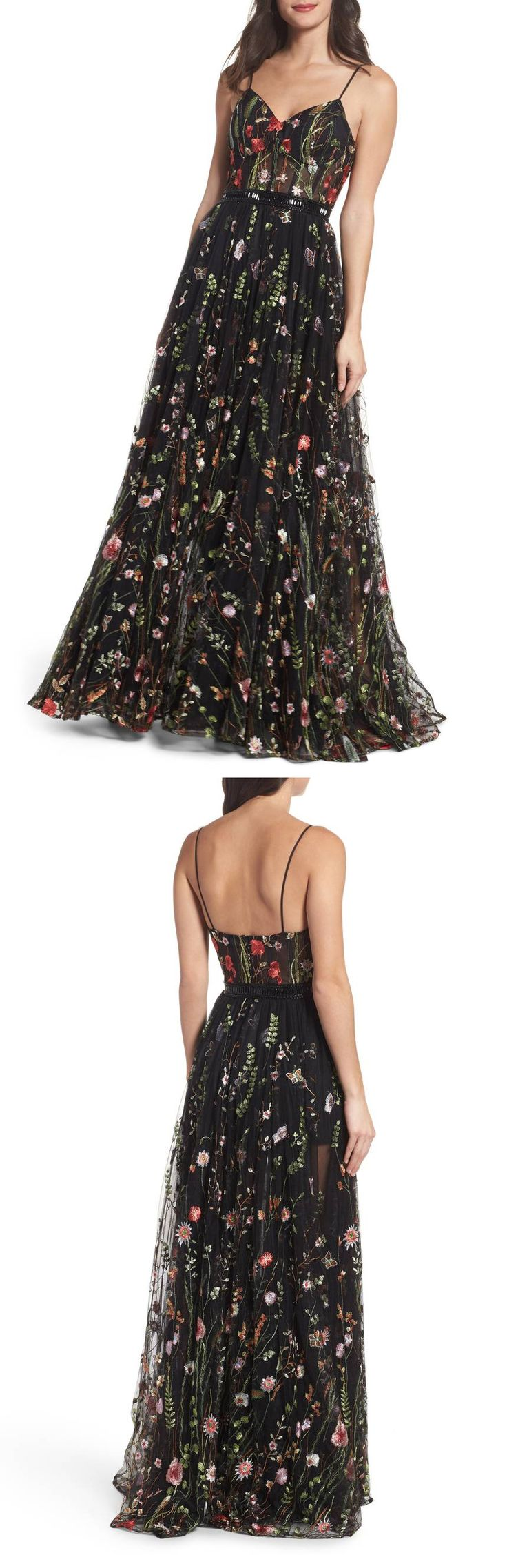 Black Embroidered Bustier Gown by Mac Duggal #dress  #formaldress #formalgown #eveninggown #fashion #womensfashion formal dress | formal dresses for teens |  Formal Dresses | formal dress |  Formal Dresses | Formal Dress Outfits |