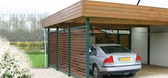 carport bois sur mesure abris carros. Black Bedroom Furniture Sets. Home Design Ideas