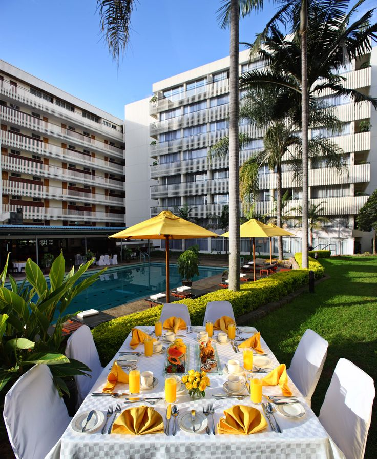 Sarova Panafric lawn dining