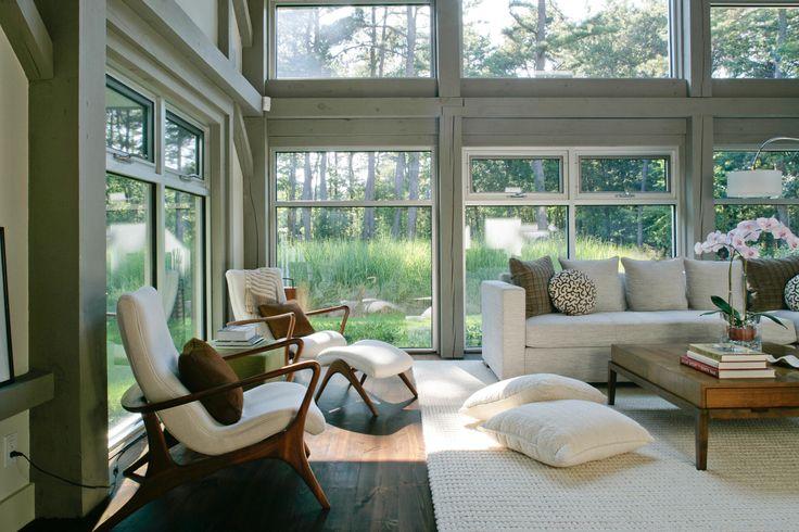 Gorgeous family room!: Modern Farmhouse, Ideas, Interior, Living Rooms, Window, Betty Wasserman, Livingroom, Photo, Design