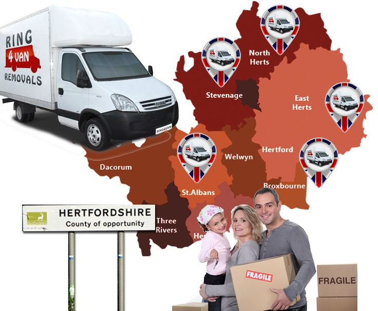 Removals Company in Hertfordshire - Looking for a trusted removals company to help you move house in Herftordshire ? Ring 4 Van Removals, Members of AIM & Check A Trade, Trained professionals.