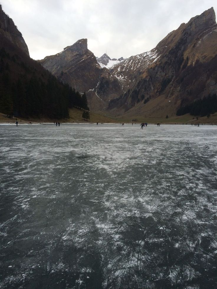 Frozen Seealpsee on December the 17th