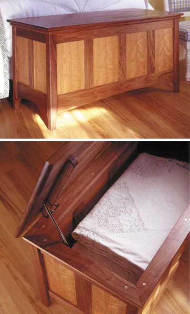 Heirloom Hope Chest Woodworking Plan from WOOD Magazine