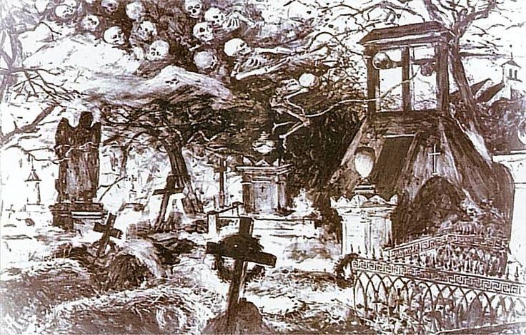 Na cmentarzu - Zaduszki