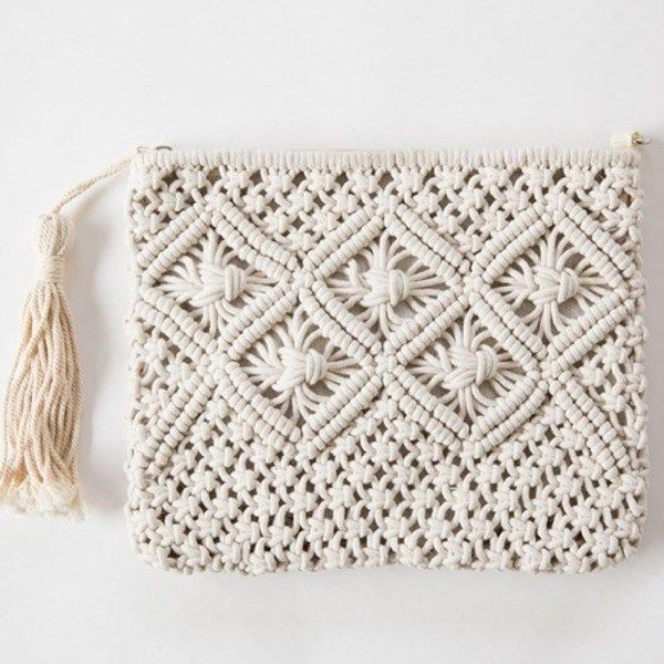 DIY Craft: Macrame Bag Tutorial For Beginners is perfect macrame projects other than wall hanging. <a class=