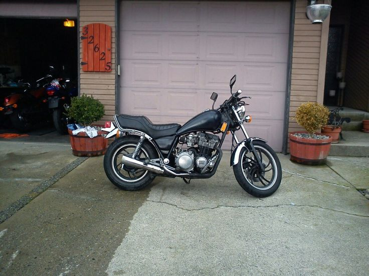 Xj650 with 750 motor swap before