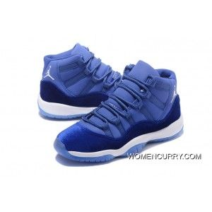new styles 9c8c9 351a4 Air Jordan 11 Royal Blue-White Online