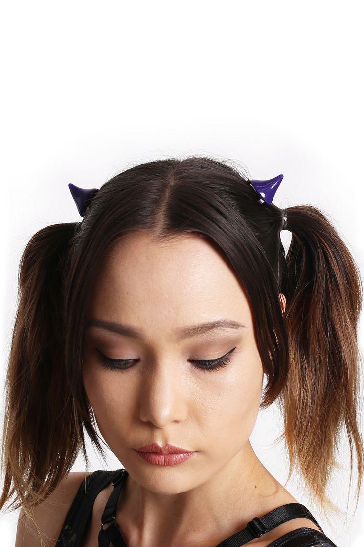 Little Devil Horns Purple - $9.00 AUD