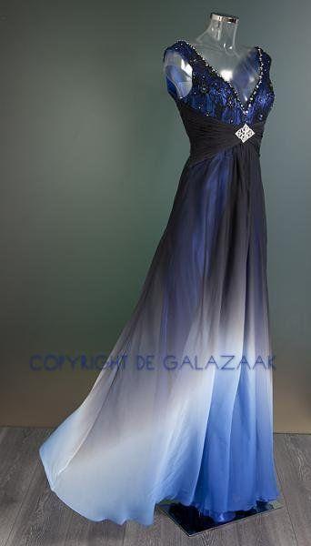 Galajurk zwart blauw 300