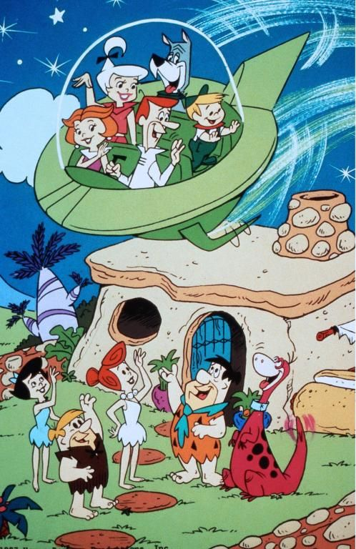 The Jetsons Meet The Flintstones | the jetsons meet the flintstones die jetsons treffen die flintstones