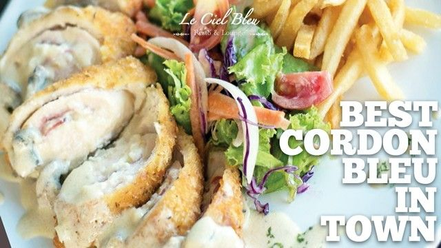 Best cordon bleu in the world i guarantee you'll come back for more!;-)