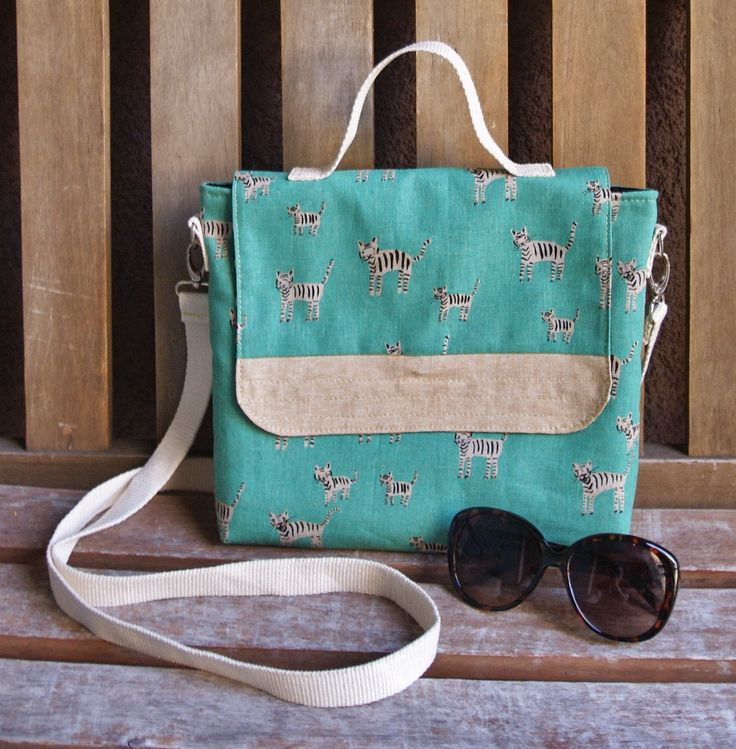 waxed canvas travel bag sewing pattern