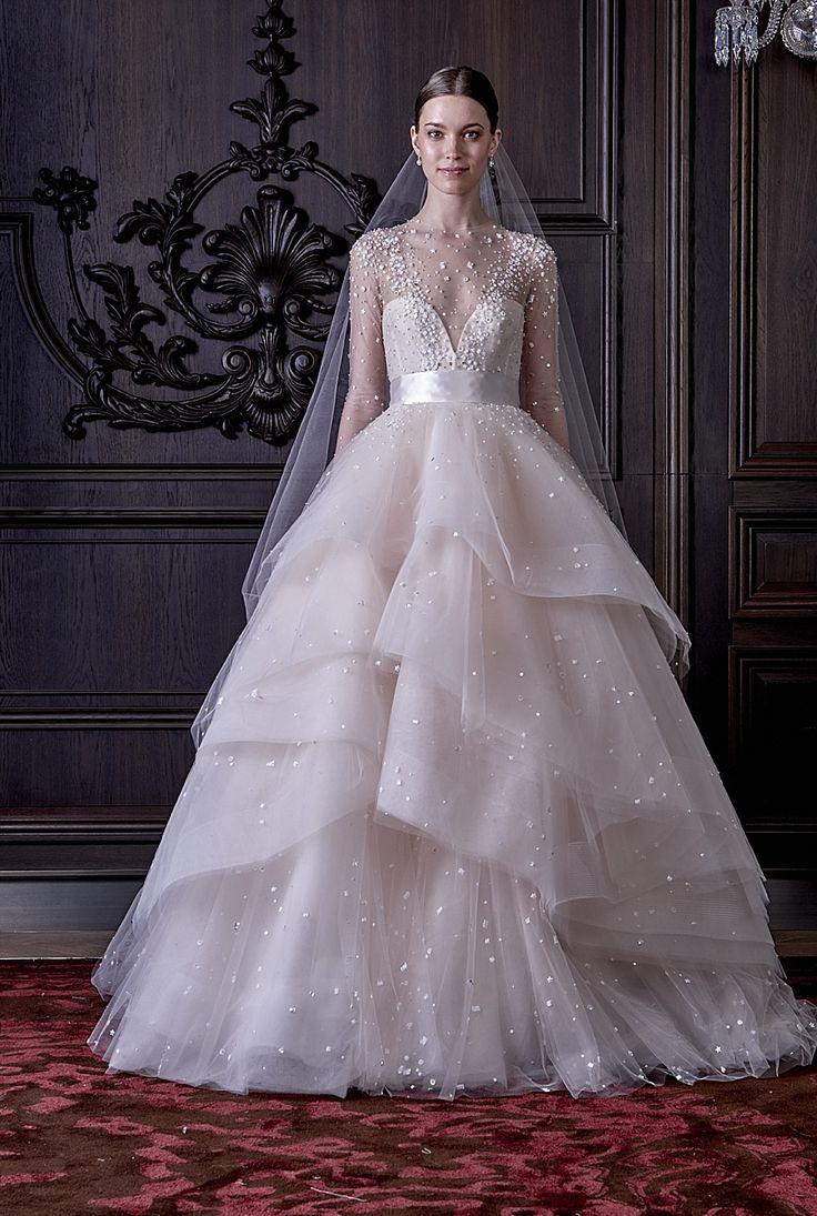 Monique Lhuillier Wedding Dresses Spring 2016 Bridal Fashion