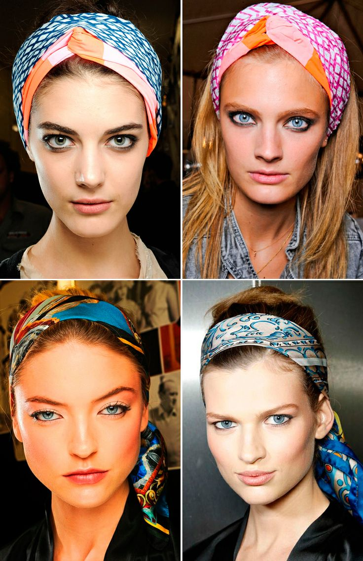 how to wear a headband like a hippie