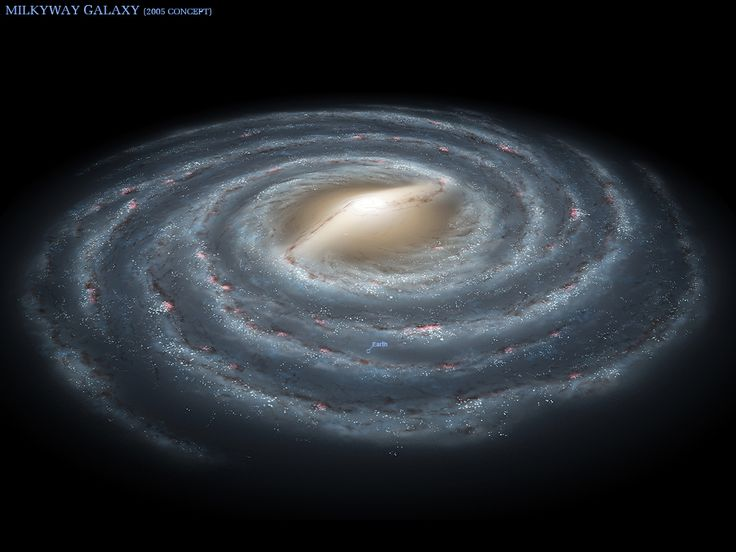 3D image of the Milky Way Galaxy   Outer Space JUNKIE ...