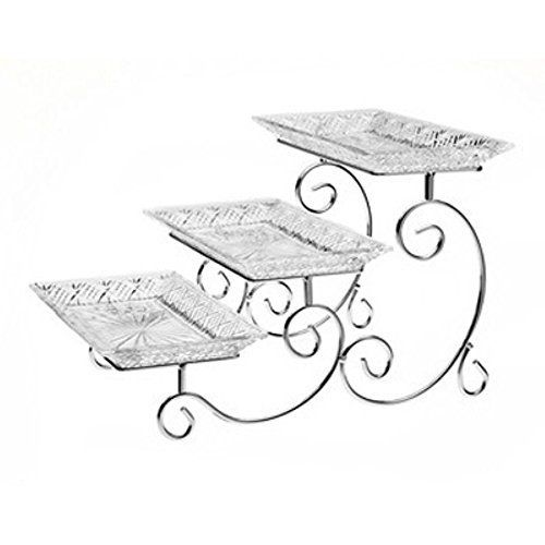 Purchase the Godinger Dublin 3 Tier Server securely online at charingskitchen.com today.