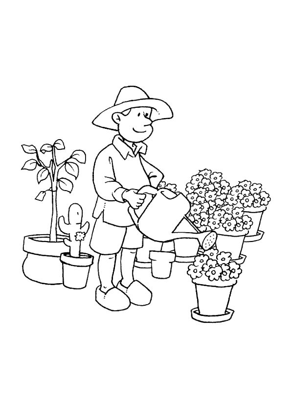 Occupations Coloring Pages Printable 15 Best Occupation Coloring Sheets Images On Pinterest  Coloring .