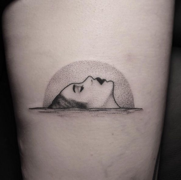 Beautiful dotwork design by Brendon