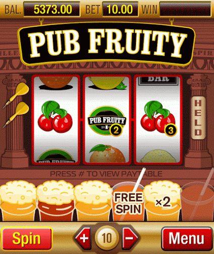 Euro Palace Casino - Pub Fruity - Traditional slot game