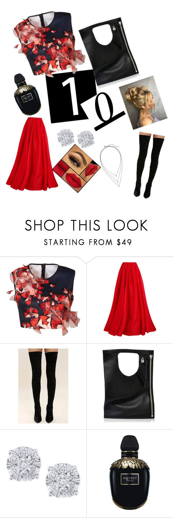 """""""Celebrate Our 10th Polyversary!"""" by anastasiafaithfilipic ❤ liked on Polyvore featuring Clover Canyon, Reem Acra, Cape Robbin, Alix, Effy Jewelry, Alexander McQueen, Banana Republic, polyversary and happpy10thanniversary"""