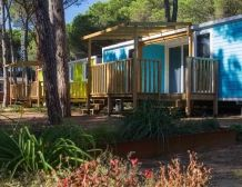 Mobile Home Colors Accommodations for 4 or 6 persons