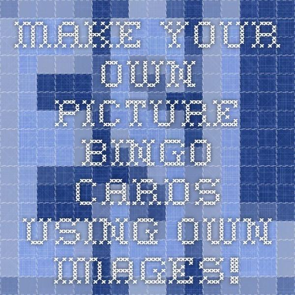 Make Your Own Bingo Card: The 25+ Best Bingo Card Maker Ideas On Pinterest