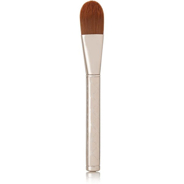 By Terry Foundation Brush - Precision 6 ($55) ❤ liked on Polyvore featuring beauty products, makeup, makeup tools, makeup brushes, colorless, foundation makeup brush, by terry, foundation brush and synthetic makeup brushes