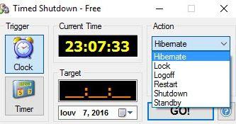 Κλείστε αυτόματα αδρανοποιήστε αναστείλετε επανεκκινήστε αποσυνδέστε ή κλειδώστε τον υπολογιστή σας σε συγκεκριμένη ημερομηνία και ώρα. Το πρόγραμμα κρύβει στο δίσκο του συστήματος κατά την εκτέλεση ώστε να μπορείτε εύκολα να παρακολουθείτε και να ακυρώσετε την προγραμματισμένη εργασία σας αν χρειαστεί κατά την τελική αντίστροφη μέτρηση. Μπορείτε επίσης να εκτελέσετε το πρόγραμμα στη γραμμή εντολών ή από μια συντόμευση με προκαθορισμένες ρυθμίσεις.Timed Shutdown Free : 6.2  Author's…