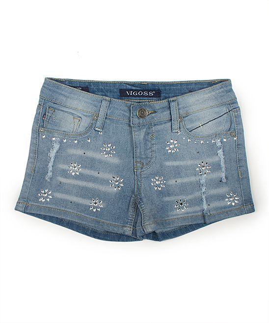 Capri Breeze Sparkle Shorts - Girls