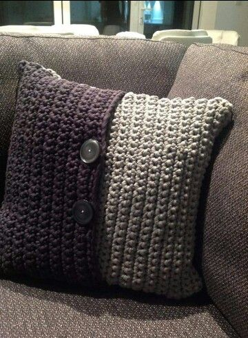 Cushion cover made with boodles by me - Jenn