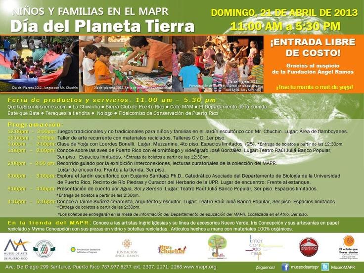 Día del Planeta Tierra @ Museo de Arte de Puerto Rico