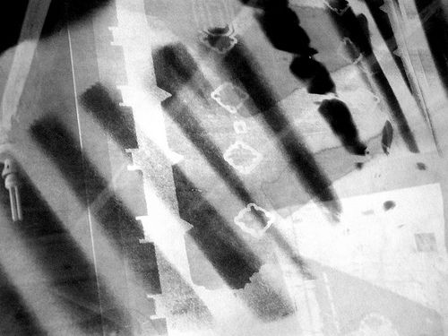 Temporal Intersections : Photogram #3. Cathedral/Corset.