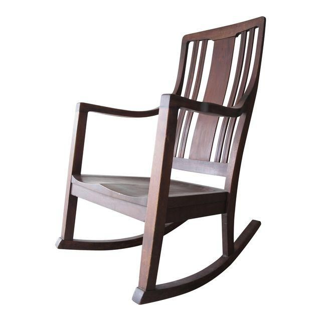 Image of Antique Modern Farmhouse Rocking Chair