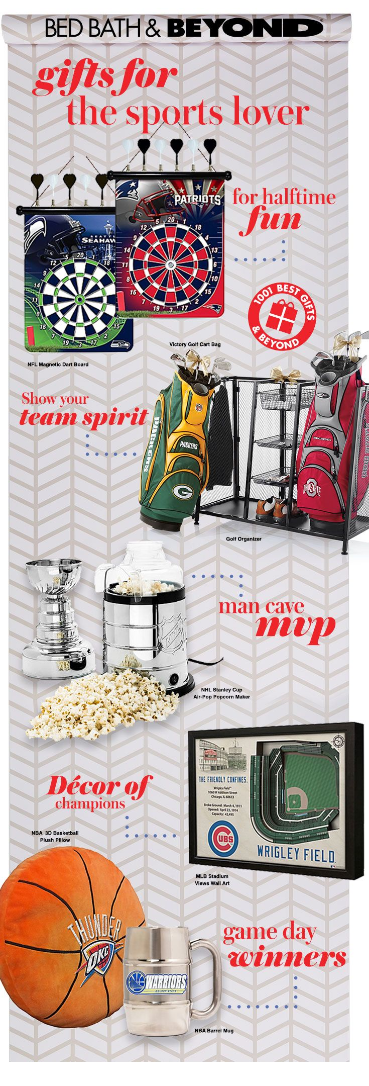 Lori greiner jewelry box bed bath and beyond - Go Fight Win At Gift Giving This Season With Gifts For The Sports Fan