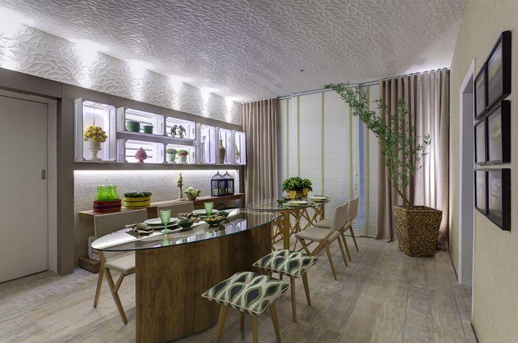 Sala de jantar ecológica
