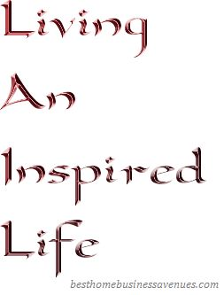 Are you living an inspired life?  What motivates and inspires you?  Do you have clearly defined goals?  What are yourshort and long term go...