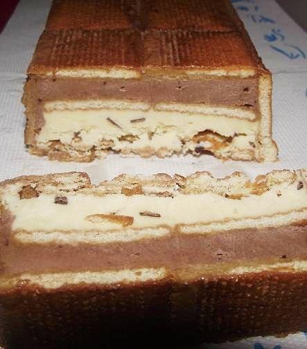 Semifreddo cu mascarpone si ciocolata - 1 an alaturi de bucatarasi!