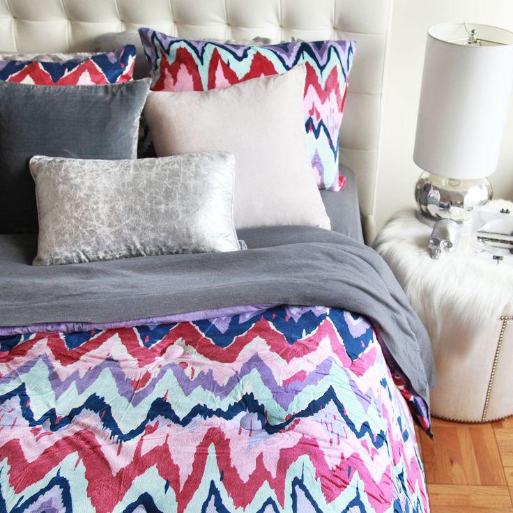 Paintica Chevron Comforter Set | dormify.com