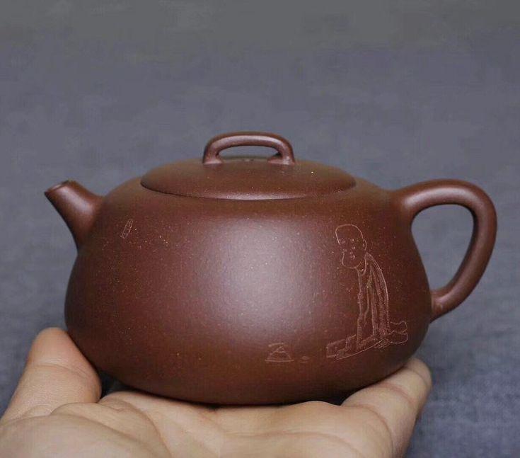 Huanglong mountain purple clay handmade yixing pot 190ml    #茶具#茶壶#Jogo de chá#Thé#?????#чайный сервиз#Juego de té#Thee#Tee#Die teekanne#Théière#Théière#teaset