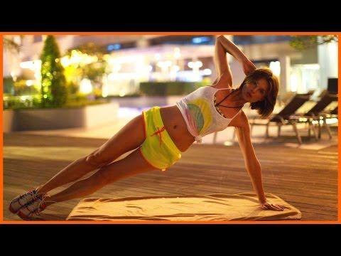 Упражнения для ног.Бедра внутри+растяжка (KatyaEnergy) - YouTube