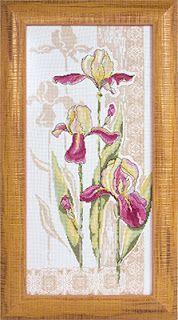 """Вышивалка 刺繍: Скачать схему вышивки """"Panna"""" Ц-787 «Цветы наших садов. Ностальгия»"""